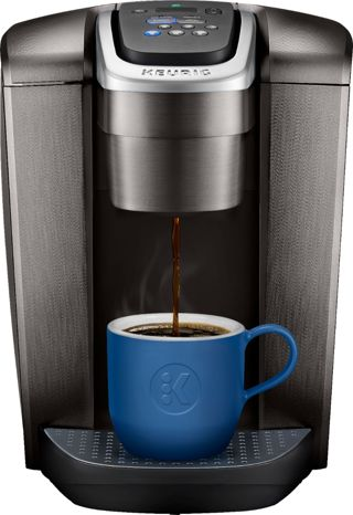 Keurig - K-Elite Single-Serve K-Cup Pod Coffee Maker - Brushed Slate