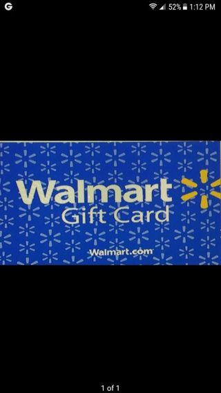 $25 Walmart card