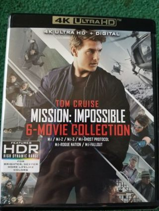 Mission impossible 4k uv collection
