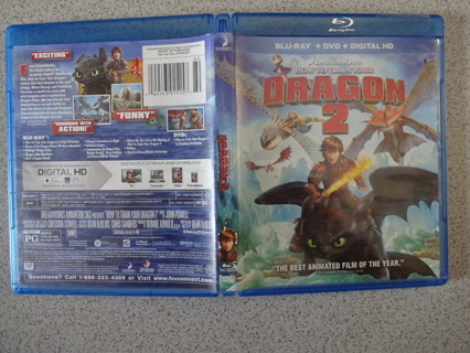 How to Train Your Dragon 2 Blu-Ray/DVD Set