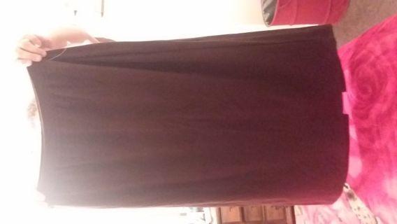 Women new avenue brown Skirt size 14/16 XL