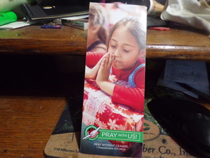 PRAY WITH US BOOKMARK
