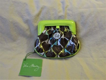 "NWT Vera Bradley Frill Charmed Pouch ""Sittin' in a Tree"" print Coin Purse"