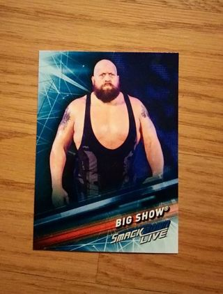WWE 2019 Smackdown Live Big Show Card