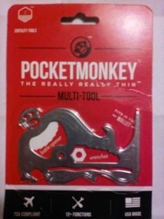 Pocket monkey ~~~~the really really thin mutli tool~~~~MADE IN THE USA