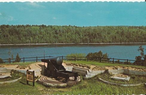 Vintage Unused Postcard: Fort Knox, Prospect, Maine