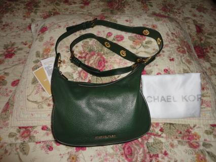 NWT Michael Kors Raven Medium Messenger Crossbody Handbag Purse!!!