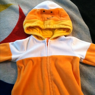 Super Cute Candy Corn Costume size 6 to 9 months