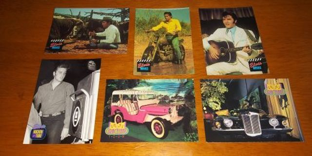 1992 The River Group Elvis Presley SERIES TWO Card Lot #1
