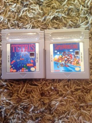 Super Mario Land and Tetris For Nintendo Game Boy, Color, Advance