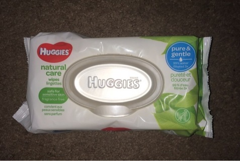 Single Pack of baby wipes 56 count