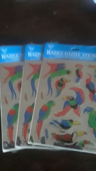 RAZZLE - DAZZLE STICKERS NEW