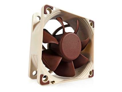 Noctua NF-A6x25 PWM, Premium Quiet Fan, 4-Pin (60mm