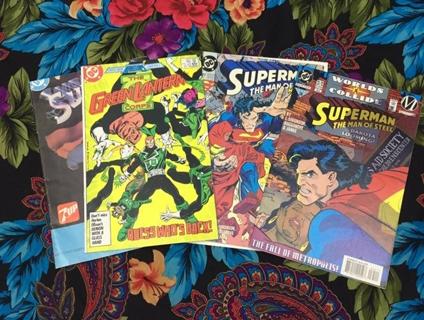 DC Comics  Superman comics green lantern corps grap