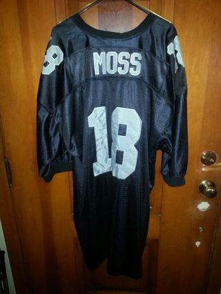new products decb6 bdfb5 Free: →Randy Moss Oakland Raiders Jersey Size 58 (3XL-4XL ...