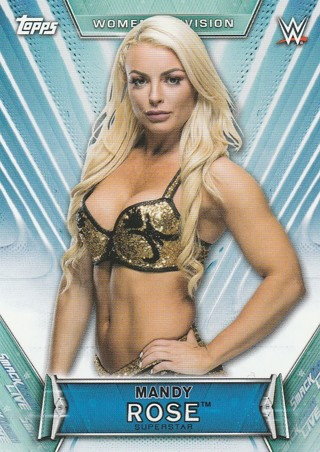 WWE Womens Division 2019 ~ MANDY ROSE Trading Card #23