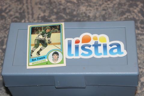 1984 1985 OPC Hockey Ron Francis Hartford Whalers #70 NHL