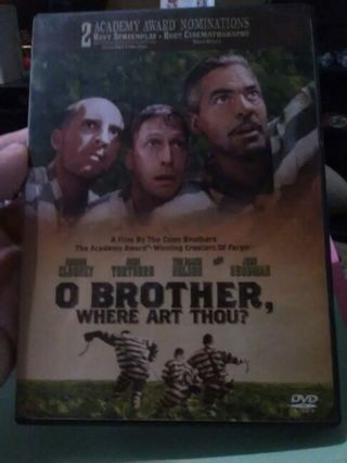 DVD movie O Brother where art thou?