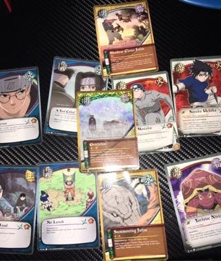 Naruto Gaming Cards