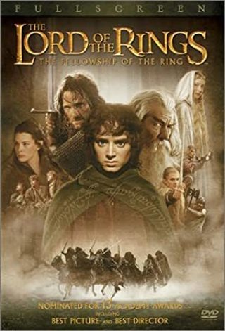 Lord of the rings the fellowship of the ring dvd fullscreen