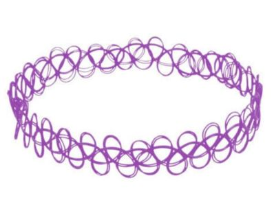 ♡ Purple Chocker ♡