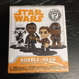 Funko - Mystery Mini Bobble Head (Sealed/Unopened Package) - Star Wars