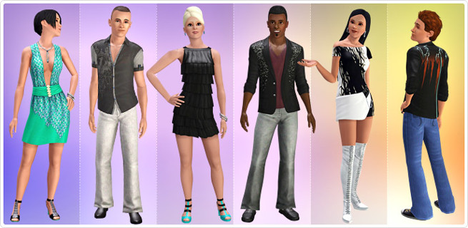 Free: Sims 3 Date Night store pack (34 items) - Video Game