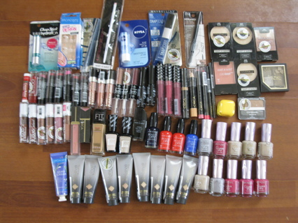 75 piece Make-Up Mega Lot - all Brand New