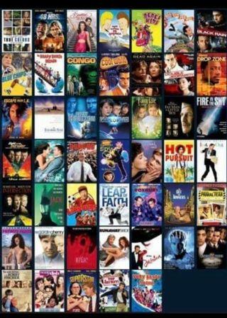 Your Choice pick 3 HDX Vudu Digital Copy