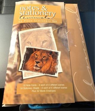 Animals Notes & Stationery Set 60 pc.