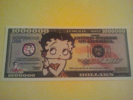 betty boop bill
