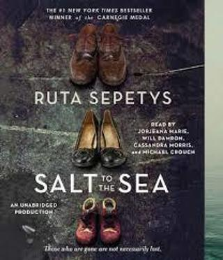 "SALT to the SEA by Ruta Sepetys (author of ""Between Shades of Gray!"") (HB/DJ-GC) #ETD8aa"