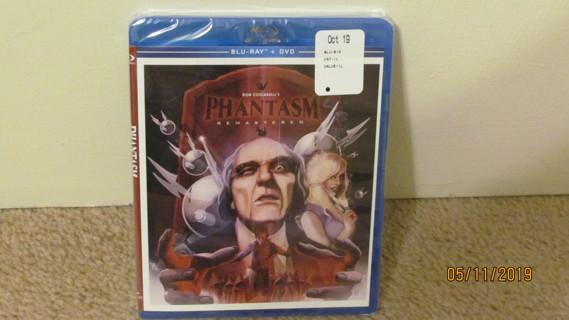 Phantasm Remastered Blu-Ray New in Package