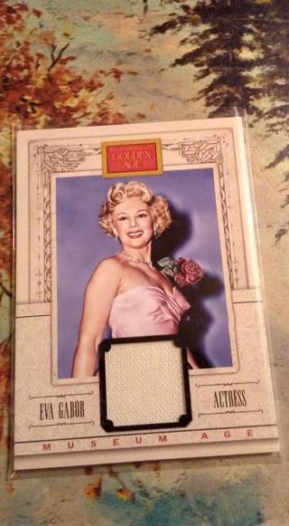 Eva Gabor Relic Card