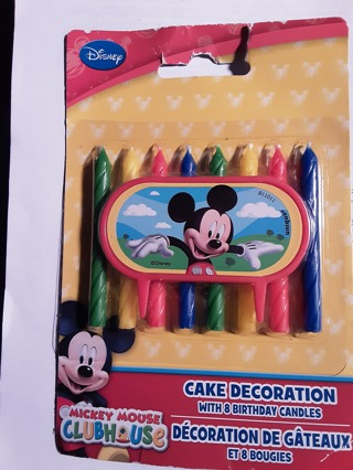 Mickey Mouse Clubhouse Cake Decoration NIPs