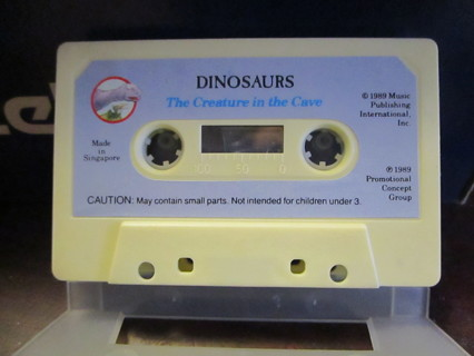Dinosaurs: The Creature In The Cave - Cassette
