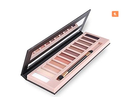 "VALENTINE""S DAY GIFT  Cosprof 12 Colors Professional Eyeshadow Palette Face Matte & Shimmer Makeup"