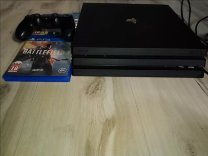 PS4 PRO 1TB WITH GAMES! WITH CONTROLLER