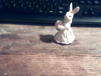 Miniature Easter rabbit