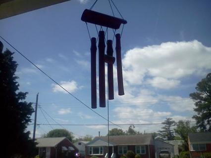 BRAND NEW- BAMBOO WIND CHIMES