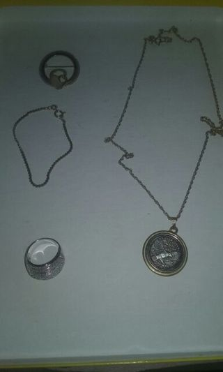 silver n gold jewelry