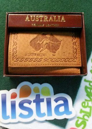 Australian Leather key case