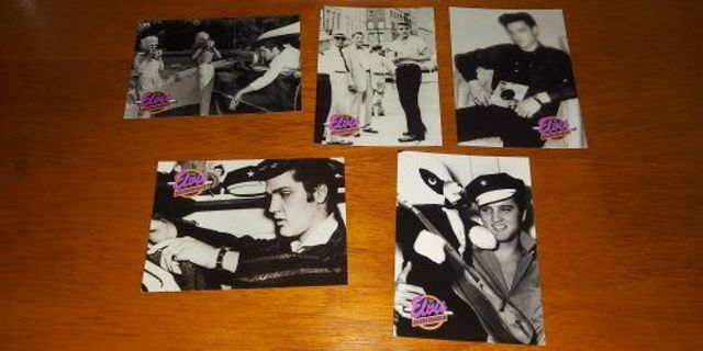 1992 The River Group Elvis Presley SERIES TWO Card Lot #4