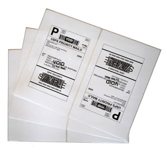 10 Shipping Labels + 10 FREE AND RETURN ADDRESS if GIN Used!