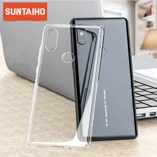 Suntaiho shockproof phone case for Xiaomi mi 9 8 SE case Cover Silicone tpu Protective case for