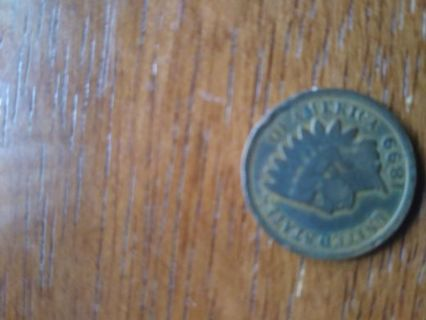 1890 Indian Head One Cent Penny!