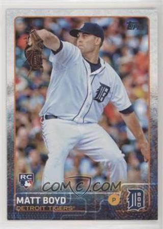2015 Topps Update #US332 Matt Boyd RC