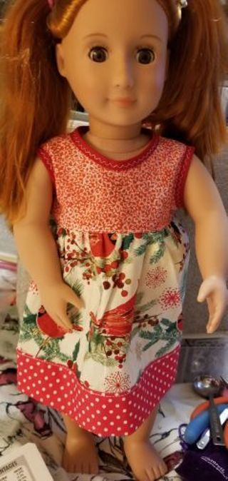 DRESS FOR 18 IN DOLL