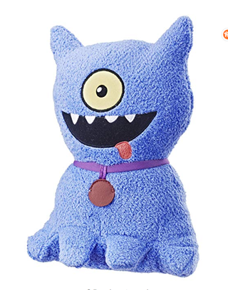 """⭐️⭐️⭐️⭐️Hasbro Uglydolls Feature Sounds Ugly Dog, Plush Toy That Talks, 9.5"""" Tall"""