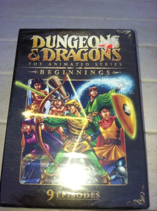 New Dungeons And Dragons dvd 9 episodes